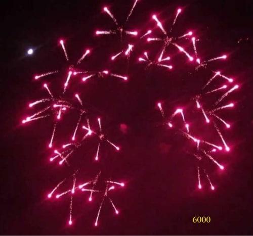 6000. Lưới lửa cúc cánh đỏ Reddish gamboge to red scatter shell -21chemical
