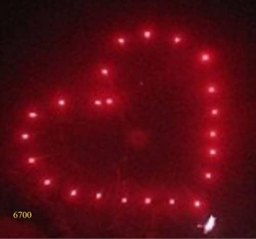 6700. Trái tim đỏ Red heart -21chemical