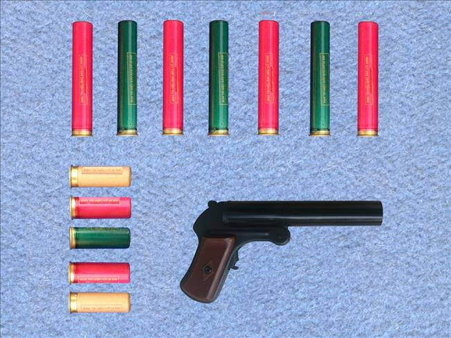 Súng bắn đạn tín hiệu & đạn tín hiệu -21chemical