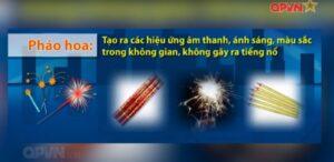 pháo hoa người dân được sử dụng